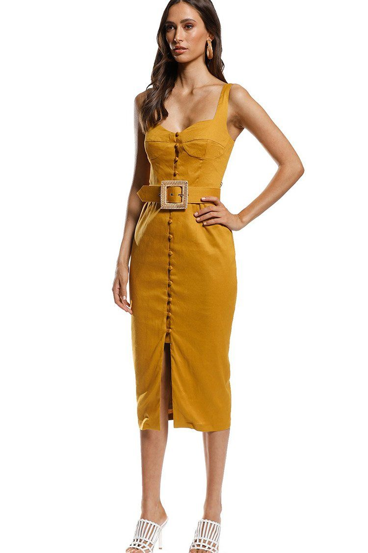 Breeze Midi in Saffron