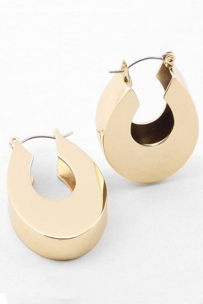 Kleopatra Earring in Champagne Gold