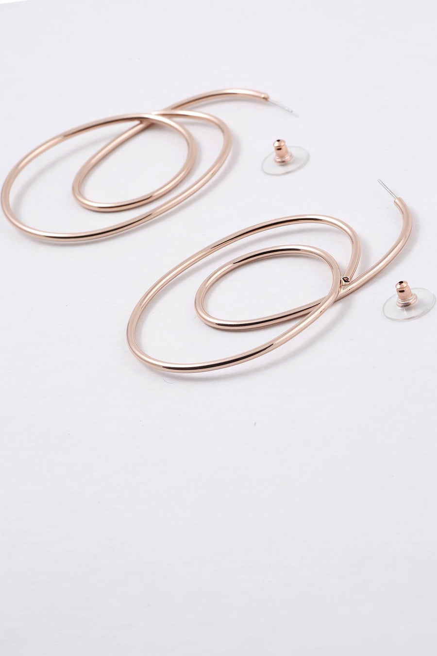 Mindil Earrings in Rose Gold
