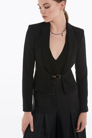 Slim-fit Jacket in Black