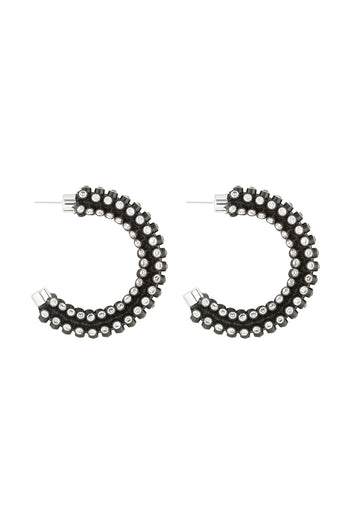 Agata Clip Earrings