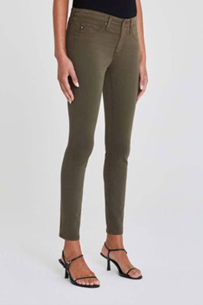 Prima Superstretch Jean in Shady Moss Bottoms Adriano Goldschmied