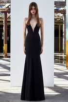 Shop Online Rae Satin Halter Gown by Alex Perry  Frockaholics Trunkshow