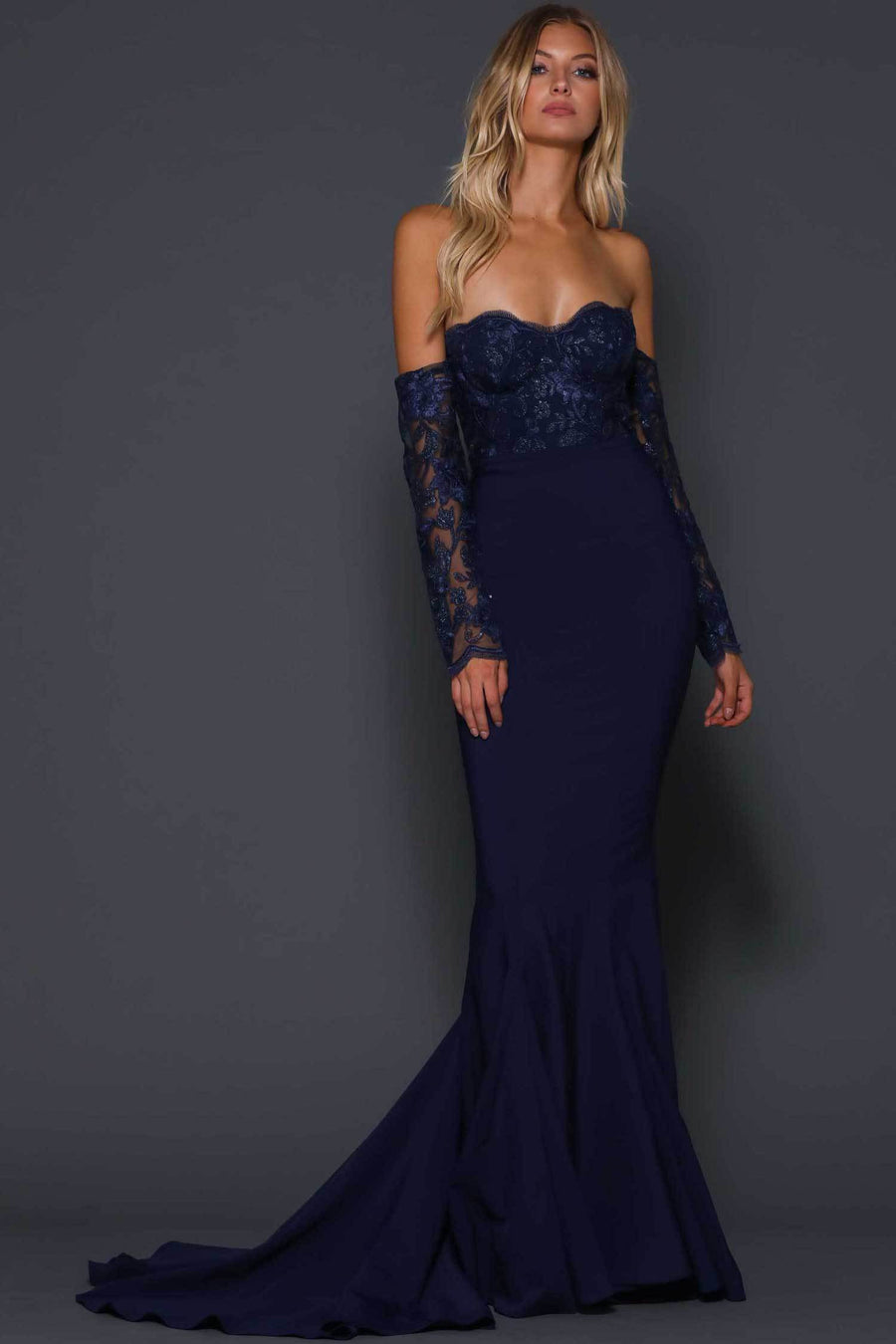 Shop Online Raquel in Midnight by Elle Zeitoune  Frockaholics Dresses