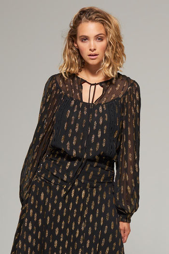Rani Lurex Blouse