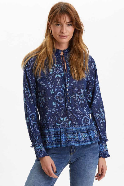 Ravishing Blouse in Night Sky Tops Odd Molly