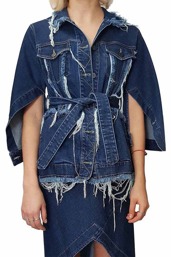 Return Jacket in Denim