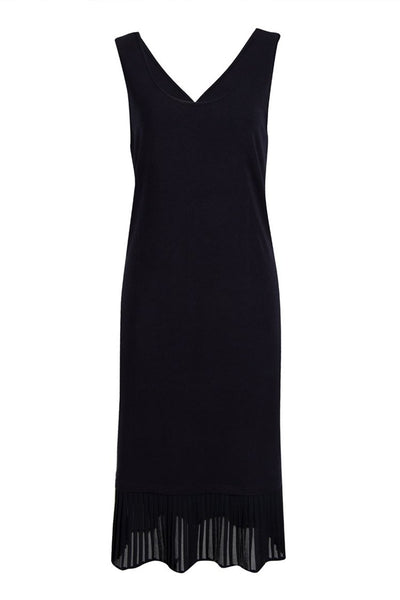 Reversible Pleat Slip in Black Dresses Verge