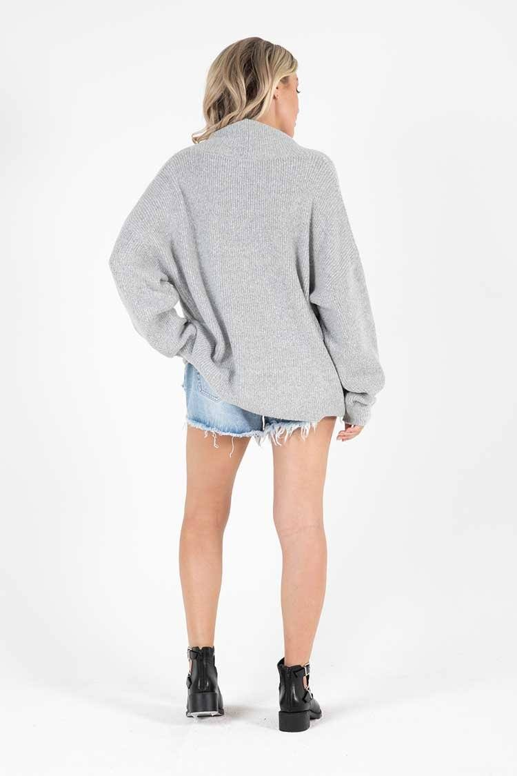 Ribba Jumper in Grey Marle