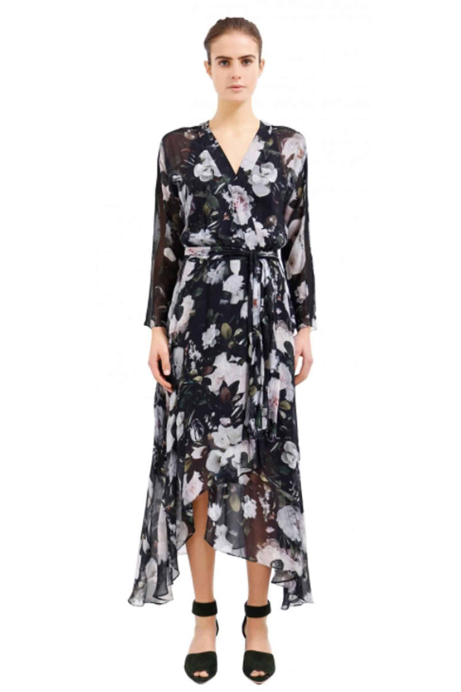 Eden Wrap Dress