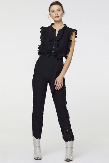 Dawn Jumpsuit in Black | FINAL SALE