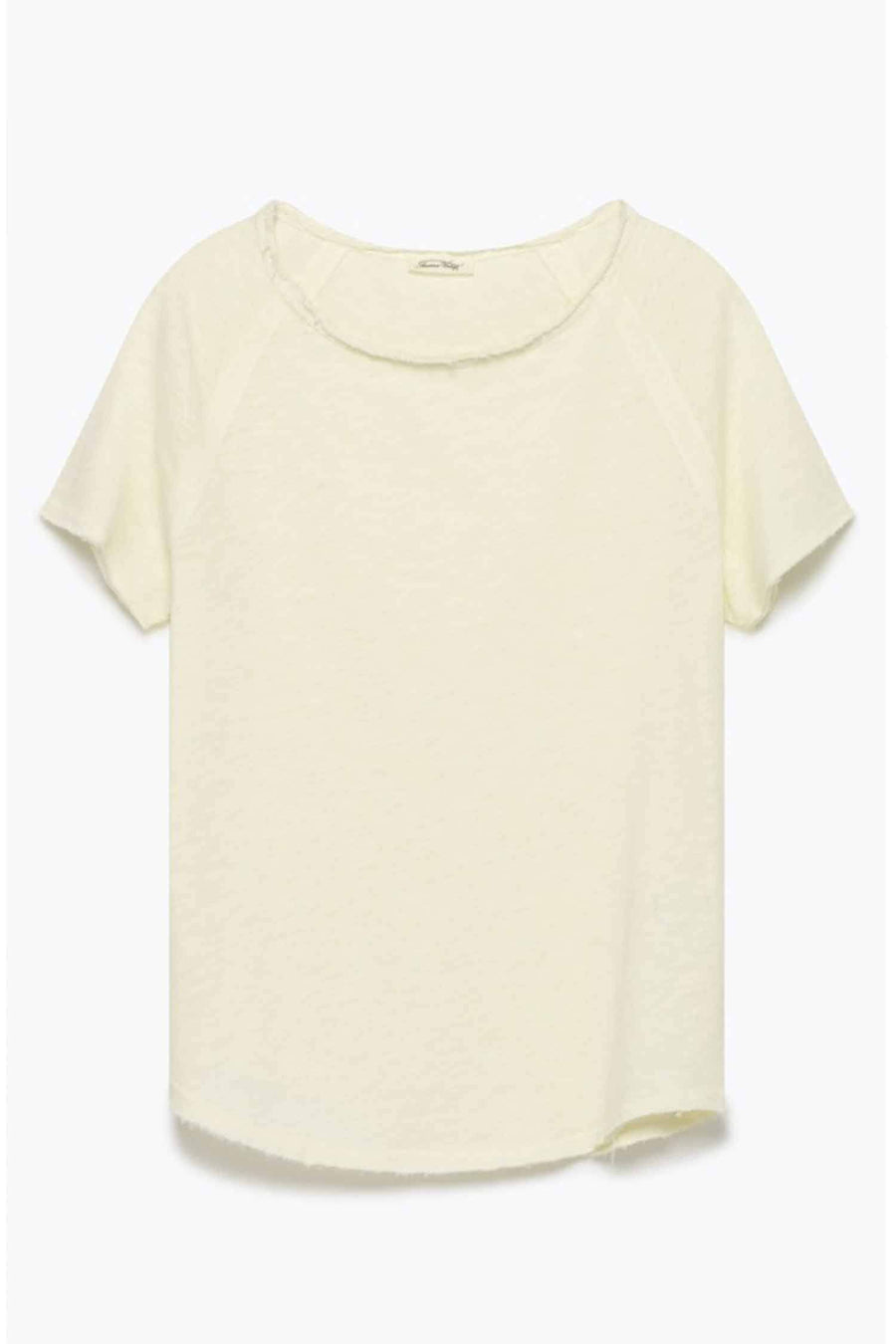 Shop Online Sonoma S/S Sweatshirt in Vintage Ivory by American Vintage  Frockaholics Tops