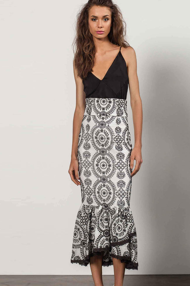 Cara Maxi Skirt by Stanzee Frockaholics.com
