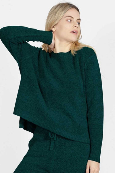 Sadie Knit in Emerald Tops SASS