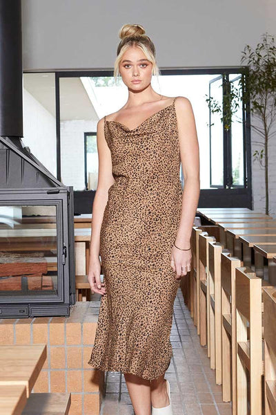 Sally Dress in Animal Print Dresses SASS