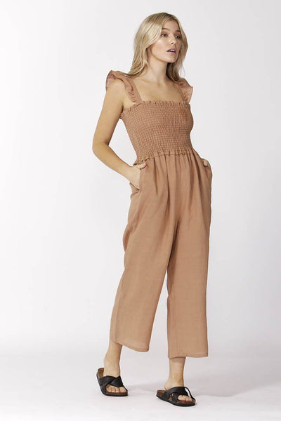 Alberte Jumpsuit in Cinnamon Jumpsuit / Playsuit SASS