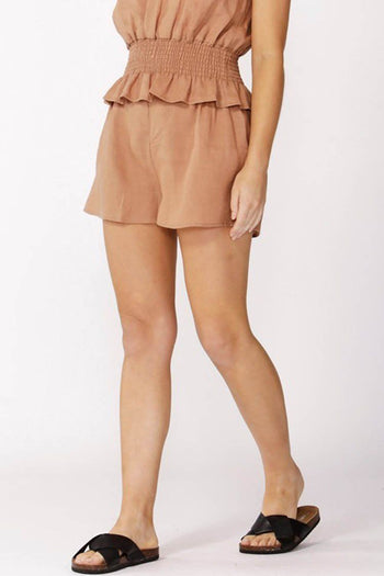 Alberte Short in Cinnamon