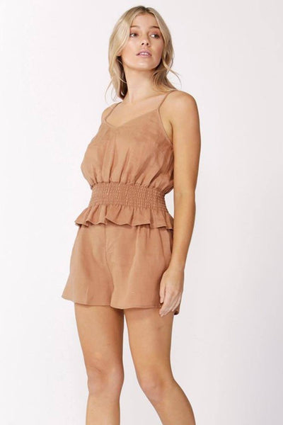 Alberte Top in Cinnamon Tops SASS