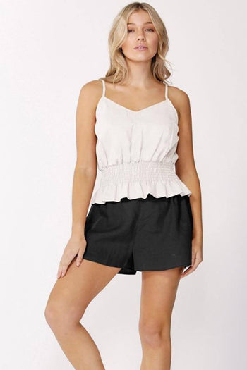 Alberte Top in White