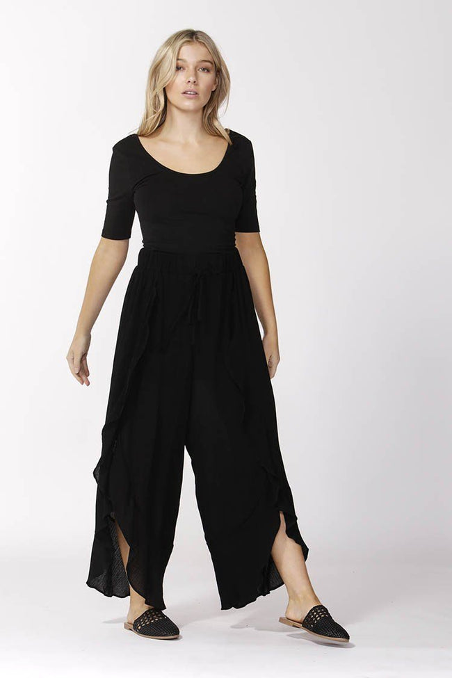 Boho Pants in Black