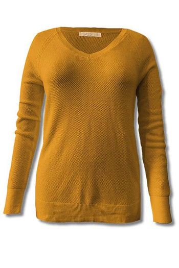 Elsie Knit in Mustard