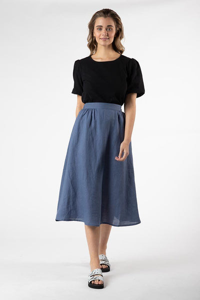 Kindle Skirt in Blue Bottoms SASS