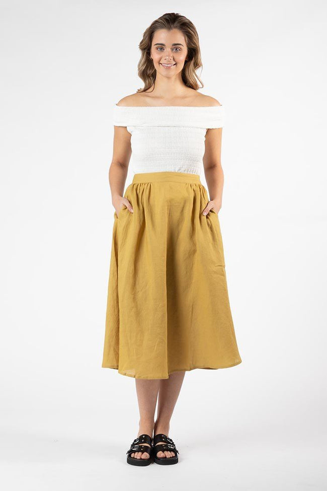 Kindle Skirt in Olive