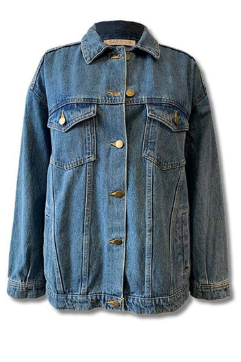 Linden Jacket in Blue Wash