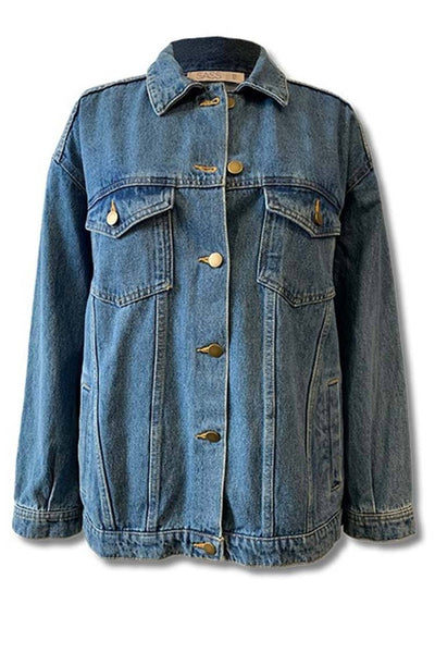 Linden Jacket in Blue Wash Jackets & Outerwear SASS