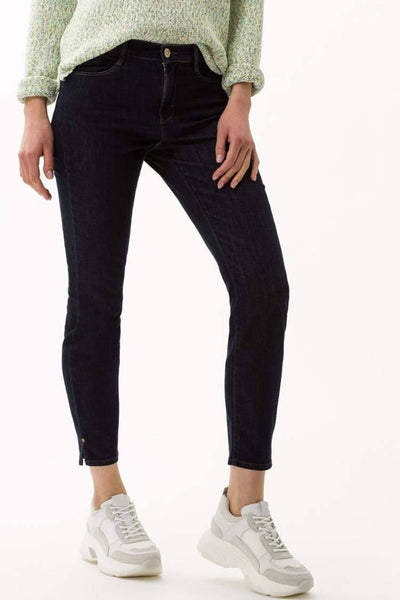 Shakira Jeans in Deep Navy Bottoms Brax