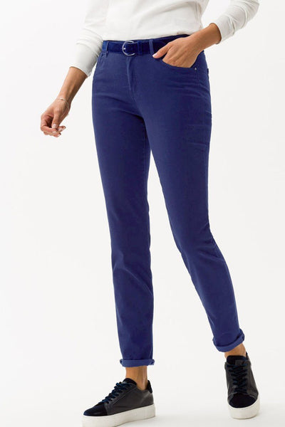 Shakira Jeans in Winter Dream Blue Bottoms Brax