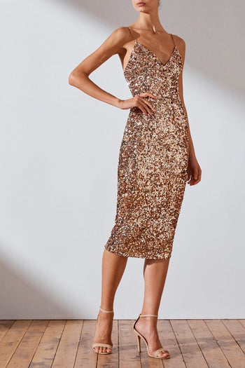 Faye Cocktail Midi Dress