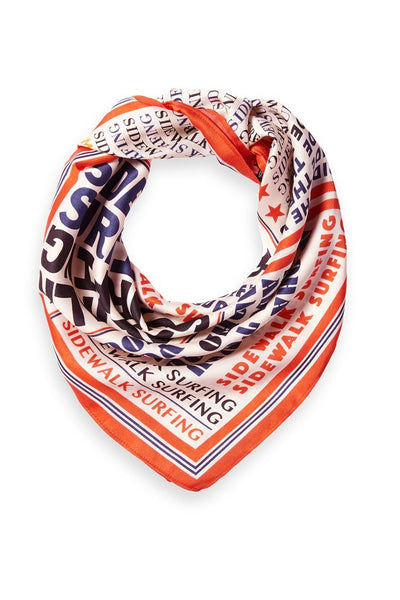 Silky Printed Scarf Accessories Maison Scotch