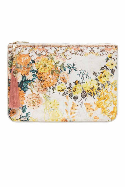 Small Canvas Clutch in In The Hills of Tuscany Accessories Camilla