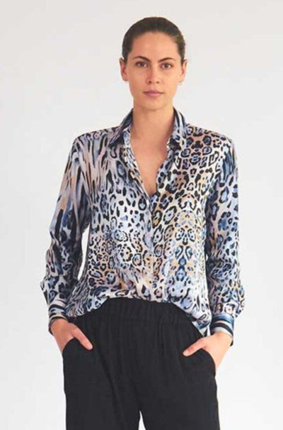 Soft Shirt in Desert Animal Tops Mela Purdie