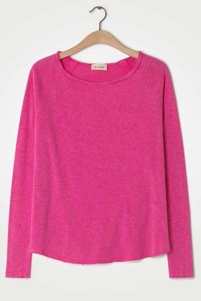 Sonoma L/S T-shirt in Vintage Pinky Tops American Vintage