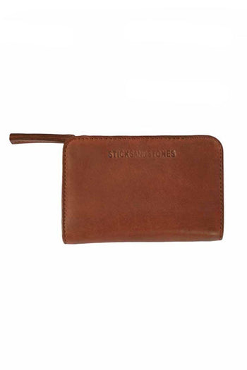 Sonora Wallet in Mustang Brown