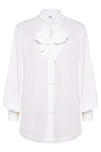 St Andrews Blouse in White