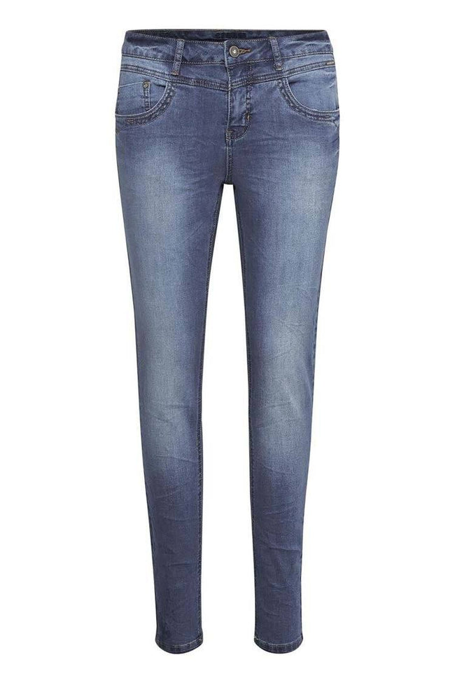 Susanna Jeans in Rich Blue