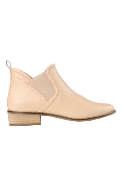 Tainy Leather Boot in Nude Shoes Martini Marco