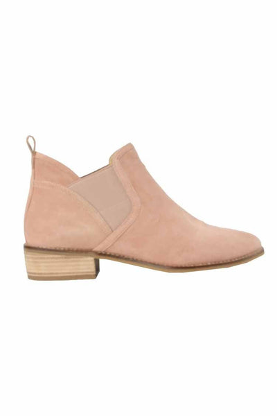 Tainy Suede Boot in Pink Shoes Martini Marco