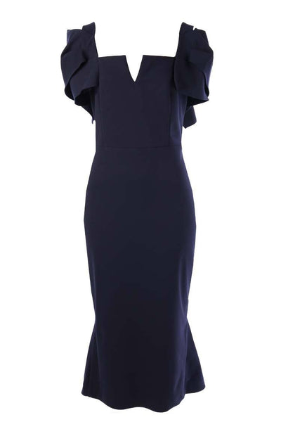 Tessa Dress in Navy Dresses Eileen Kirby