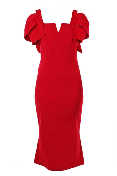 Tessa Dress in Red Dresses Eileen Kirby