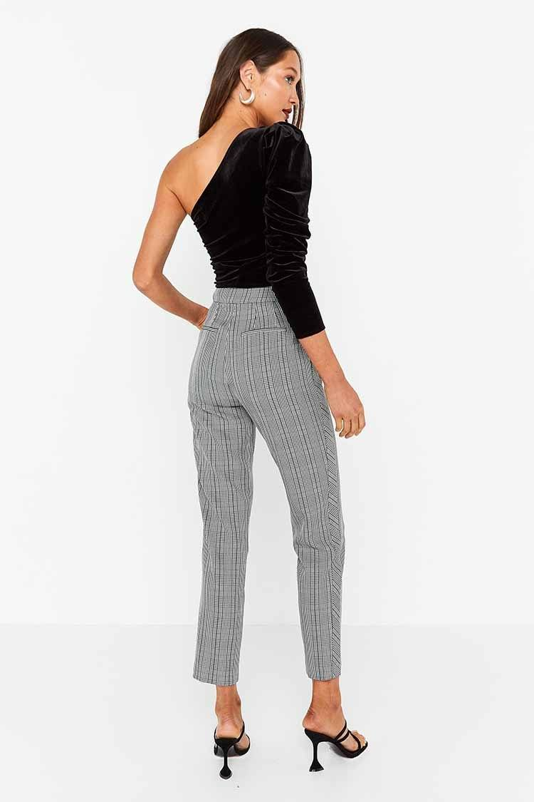 The Duchess Pant in Check