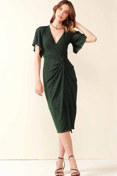 The Emporium Dress in Emerald Dresses Sacha Drake
