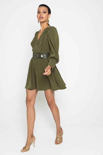 Together Again Dress in Khaki Dresses Mossman