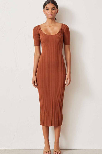 Toulouse Knit Midi Dress