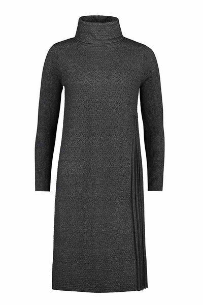 Transcript Dress in Charcoal Dresses Verge