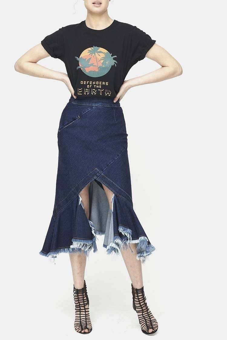 Tribe Skirt in Denim