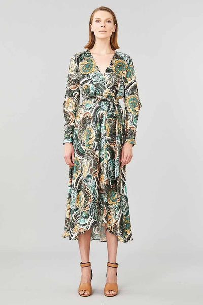 Underworld Wrap Dress Dresses Ginger & Smart